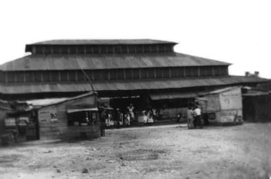 Antiguo mercado de Oxkutzcab, con fachada de pagoda china