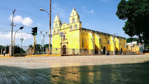 Exconvento de Oxkutzcab, iglesia de San Francisco de Asis