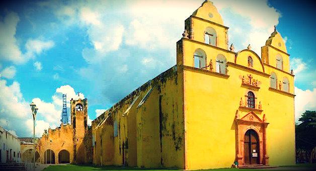 Convento de Oxkutzcab, Iglesia San Francisco de Asis