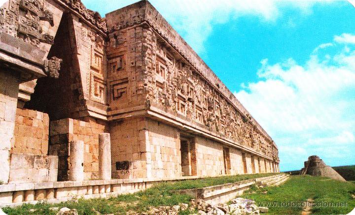 Palacio del gobernador en Uxmal